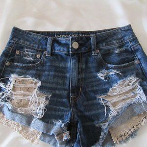 American Eagle shorts Size 4 High rise